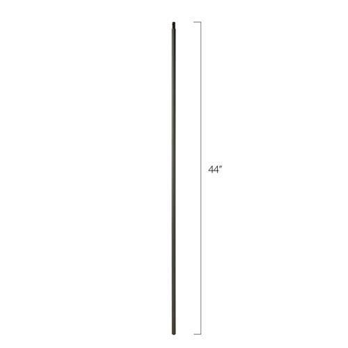 Steel Tube Spindles - 1/2 in. Square Series With Dowel Top