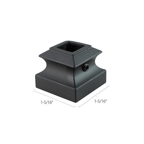 Aluminum Base Collars - 1/2 in. Square