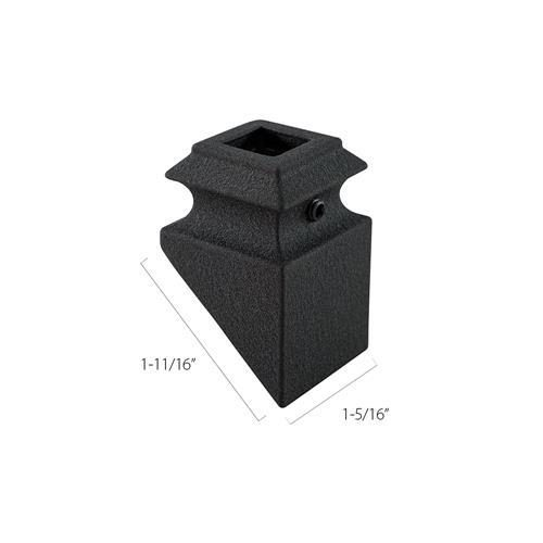 Aluminum Pitch Base Collars - 1/2 in. Square