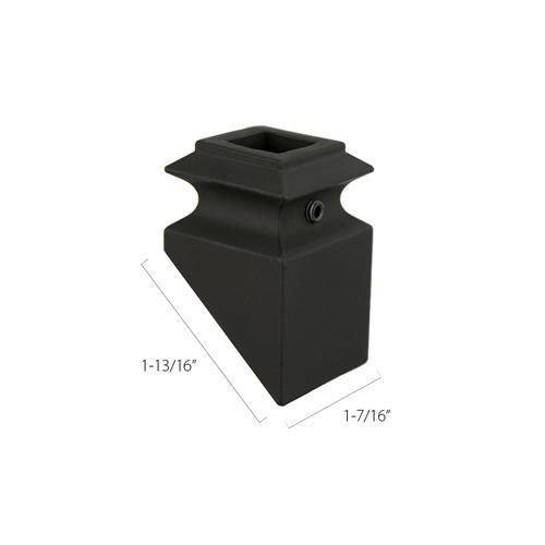 Aluminum Pitch Base Collars - 5/8 in. Square