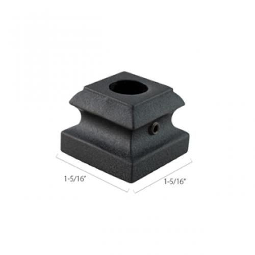 Aluminum Base Collars - 1/2 in. Round