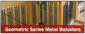 geometric-metal-balusters (Discount Metal Balusters)