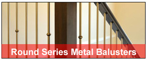 round-metal-balusters (Discount Metal Balusters)
